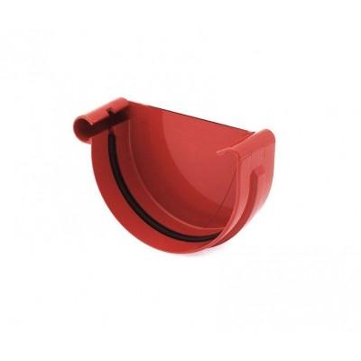 Заглушка желоба правая Bryza диаметр 150 мм RAL 3011