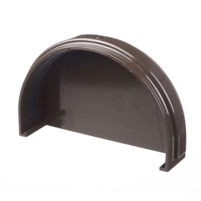 Заглушка желоба Docke PIE цвет Шоколад