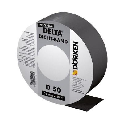 Delta-Dicht Band DB 50 уплотнительная самоклеящаяся лента из битум-каучука для контробрешетки