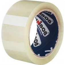 Лента клейкая упаковочная Unibob цвет прозрачный