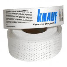 Кнауф лента армирующая бумажная перфорированная 52мм (150м)