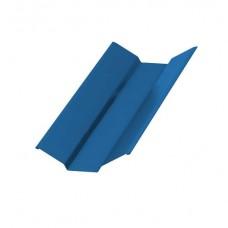 Планка ендовы верхняя NormanMP 76х76x2000, 0,5 мм, RAL 5015 синее небо