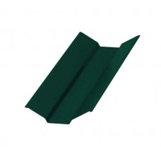 Планка ендовы верхняя Colorcoat Prisma 76х76х2000, RAL 6005 зеленый мох