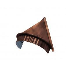 Заглушка конька круглого конусная CLOUDY, 0,5 мм, Anticato терракотовый