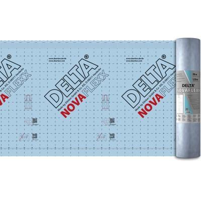 NOVAFLEXX  75 м2 адаптивная  2 слойная пароизоляция