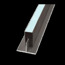Комплект профиль Т-образный + направляющая Ruspanel  40Х20 мм