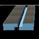 Кромка четверть Ruspanel РПГ односторонняя 2485Х585Х40 мм (1,45 м²)