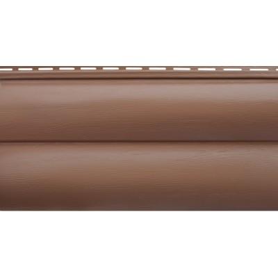 БЛОКХАУС Акриловый сайдинг | Премиум, Красно-коричневый ВН-02 3100х320мм