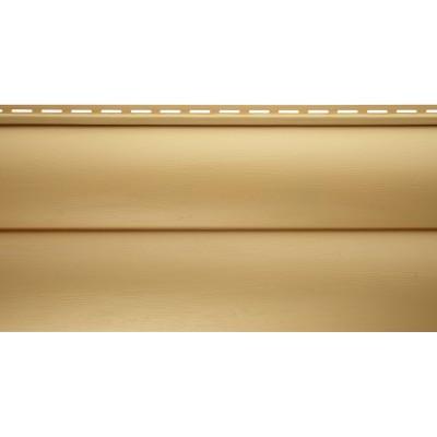 Виниловый сайдинг Альта профиль БЛОКХАУС Престиж, Золотистый ВН-03 3100х226 мм