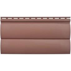 Акриловый сайдинг Альта профиль БЛОКХАУС Премиум, Красно-коричневый ВН-03 3100х226 мм