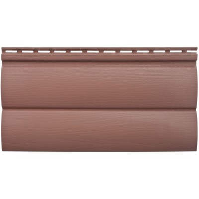 БЛОКХАУС Акриловый сайдинг | Премиум, Красно-коричневый ВН-03 3100х226мм