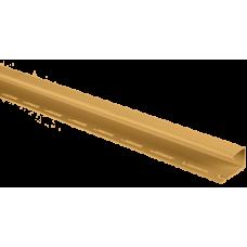 """Планка """"J - trim"""" золотистая Т-15 - 3,00м"""