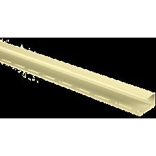 Планка J-trim АЛЬТА ПРОФИЛЬ Альта-Сайдинг, цвет Лимонный Т-15, 3000 мм