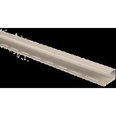 Планка J-trim АЛЬТА ПРОФИЛЬ Альта-Сайдинг, цвет Бежевый Т-15, 3000 мм