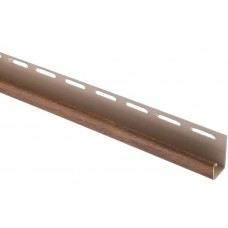 "Планка ""J - trim"" Дуб золотистый Т-15 - 3,00м"