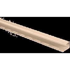 Планка J-trim АЛЬТА ПРОФИЛЬ Альта-Сайдинг, цвет Розовый Т-15, 3000 мм