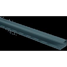 Планка J-trim АЛЬТА ПРОФИЛЬ Альта-Сайдинг, цвет Серо-голубой Т-15, 3000 мм