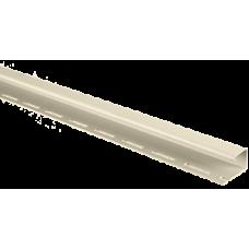 Планка J-trim АЛЬТА ПРОФИЛЬ Альта-Сайдинг, цвет Кремовый Т-15, 3000 мм