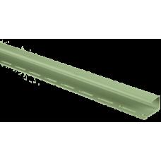 Планка J-trim АЛЬТА ПРОФИЛЬ Альта-Сайдинг, Салатовый Т-15, 3000 мм