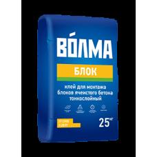 Монтажный клей ВОЛМА-Блок 25 кг