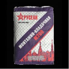 Сухая смесь М200 РУСЕАН монтажно-кладочная 40кг