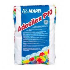 Клей для плитки Mapei Adesilex P10 белый 25 кг