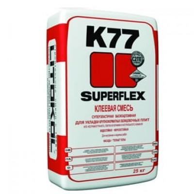 Superflex K77 Клей для плитки 25 кг