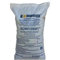 Засыпка сухая Kompevit Керамзит для пола 1-4 мм 40 л