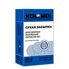 СУХАЯ ЗАСЫПКА KOL&MIX 40 Л. 0,04 м3