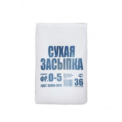 Засыпка сухая керамзитная 36л 0,036 м3 фракция 0-5 мм