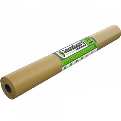 Звукоизоляционная мембрана SOUNDGUARD Membrane 3.9S, 2500х1200х3.9 мм (3 м2) самоклеящаяся