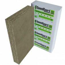 Звукопоглощающая плита SoundGuard ЭкоАкустик 30,  4 шт, 1250х600х50 мм (3 м²)