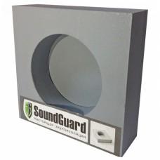 Звукоизоляционный подрозетник SoundGuard ИзоБокс 1 Стандарт, 1 секционный