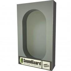 Звукоизоляционный подрозетник SoundGuard ИзоБокс 2 Стандарт,  2 секционный