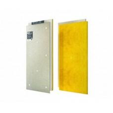 Звукоизоляционная сэндвич-панель ACOUSTIC GROUP ЗИПС-Вектор, 1200х600х40, 1 шт (0.72 м2) с крепежом
