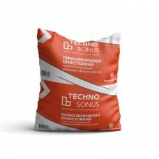 Акустический мат   TECHNO SONUS Термозвукоизол Огнестойкий, 5000х1500х14 мм (7,5 м2)